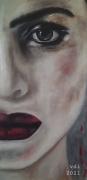 tableau personnages femme visage portrait : Femme 7