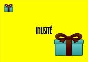 art numerique abstrait cadeau gift jaune vif merci : Merci