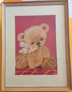 tableau autres nounours enfant chambre decoration : Nounours 2