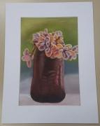tableau fleurs plantes decoration salon maison : Succulente 2
