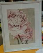 tableau fleurs fleurs decoration chambre salon : Anémones