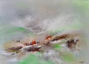 tableau abstrait : Arbrisson