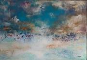 tableau abstrait : Skyin