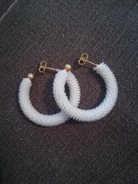 AUTRES spirale au crochet art passion perles japonaises  - créole