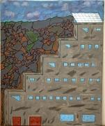tableau architecture : Usine a L'abandon