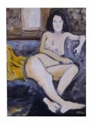 tableau nus nus femmes fenetre femme nue : Nue femmes à la fenêtre