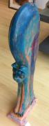 artisanat dart animaux : Chat bleu