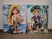 tableau : marine enfant