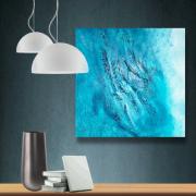 tableau abstrait reliefs abstrait tableau pas cher : Composition n°51
