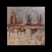 tableau abstrait tableau abstrait oeuvre unique tableau peint ,a la main emilie cerles : Composition n°67