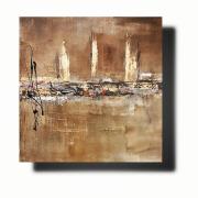 tableau abstrait Œuvre unique tableau abstrait tableau peint ,a la main emilie cerles : Composition n°68
