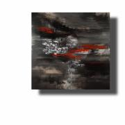 tableau abstrait Œuvre unique abstrait tableau pas cher peint ,a la main : Composition n°56
