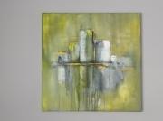tableau abstrait art abstrait œuvre unique : Composition n°15