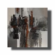 tableau abstrait Œuvre unique abstrait peint ,a la main : Composition n°57