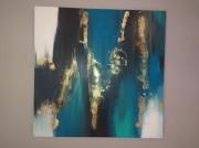 tableau abstrait art abstrait œuvre unique : Composition n°12