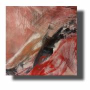 tableau abstrait Œuvre unique abstrait tableau pas cher peint ,a la main : Composition n°55