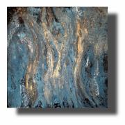 tableau abstrait reliefs abstrait tableau pas cher peint ,a la main : Composition n°53
