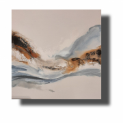 tableau abstrait oeuvre unique tableau peint ,a la ,m abstrait pas cher : Composition n°59