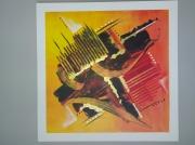 tableau abstrait : Composition n°6