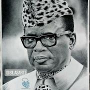tableau personnages afrique congo president burundi : Mobutu Sese Seko