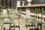 photo paysages chaises : Chaises parc Montsouris