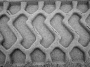 photo scene de genre traces sable : Traces
