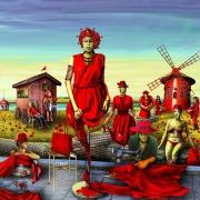 art numerique scene de genre politique communisme capitalisme rouge : LE CAPITALISME ROUGE