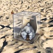 art numerique scene de genre coronavirus surrealisme pandemie confinement : INCUBATION !