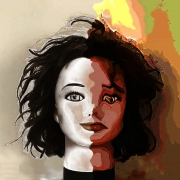 art numerique personnages schizophrenie bipolaire phobie sociale psychiatrie : L'AUTRE...MON HÔTE !