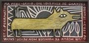 tableau animaux loup figuratif decoratif soleil : Loup soleil