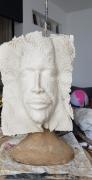sculpture personnages voile visage : Dernière œuvre
