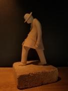 sculpture personnages : 4ième oeuvre