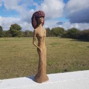 sculpture personnages : Néfer