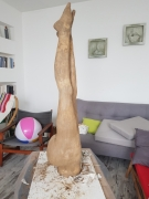 sculpture : Jambes