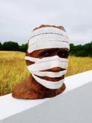 sculpture personnages : Contre Masque