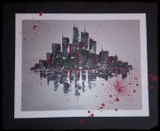 tableau villes new york city usa manathan : New york