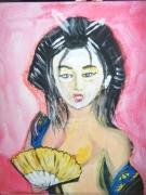 tableau nus nu femme asiatique sensuelle : Erotisme japonais