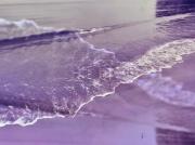 photo paysages mer vague ecume amour : Paix