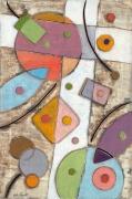 tableau abstrait art peinture art abstrait symbolisme : Il crocevia