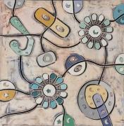 tableau abstrait art peinture art abstrait symbolisme : Sfere in movimento