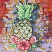 tableau fruits : Ananas
