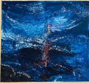 tableau abstrait vie chemin joie spirituel : L'arbre de vie