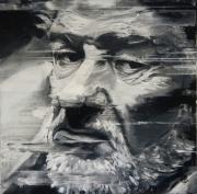 tableau personnages eddy mitchell artiste acteur portrait : EDDY MITCHELL