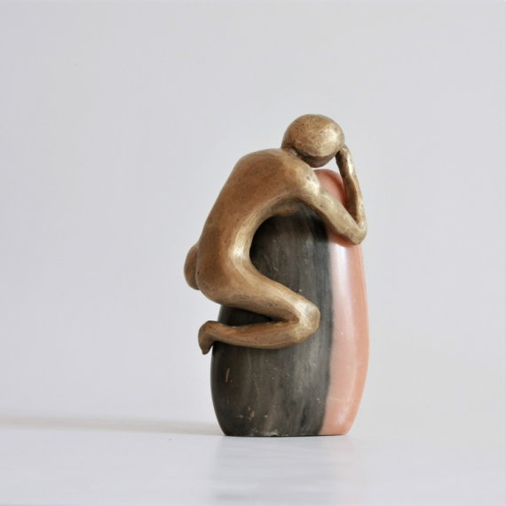 SCULPTURE Bronze  - La penseuse
