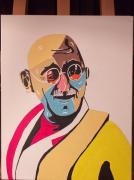 tableau personnages : Gandhi