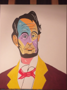 tableau personnages : Abraham Lincoln