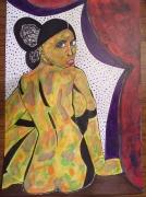 tableau nus : La Tentatrice