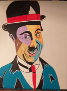 tableau personnages : Charlie Chaplin