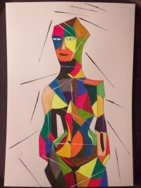 The Cubist Girl