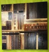 tableau architecture loireatlantique piriac sur mer marron bois : Marron